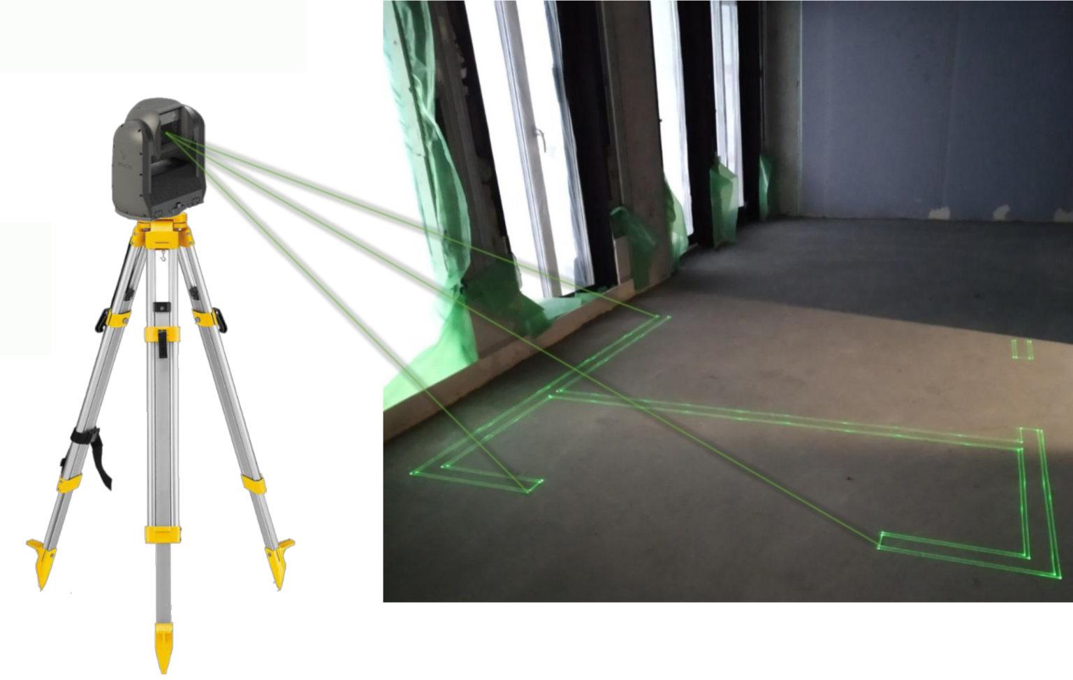 Nytt instrument underlättar utsättning av innerväggar